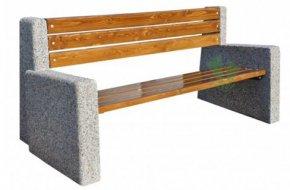 Ławka betonowa Berta